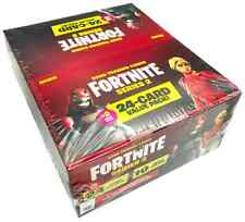 More details for panini fortnite series 2 trading cards - fatpack-box (in hand in uk)