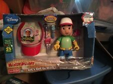 Handy Manny - Lets Get To Playset Talking Doll Figure Tools New Box