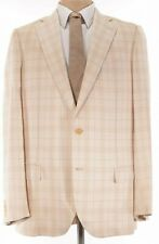 Ermenegildo Zegna Couture XXX Sport Coat US 46L (Measures 44L) Cashmere & Silk