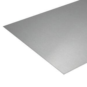 Federstahlblech rostfrei ca. 300x1000 mm Federstahl Federblech Federbandstahl