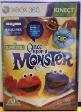 Xbox 360 Kinect Sesame Street: Once Upon a Monster - BRAND NEW AND SEALED