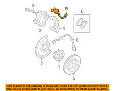 GM OEM ABS Anti-lock Brakes-Front Speed Sensor 19303071