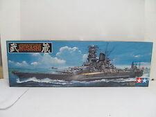MES-44138 Tamiya 78016 1:350 Japanese Schlachtschiff Musashi Bausatz