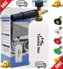 Power Pressure Washer Attachment Sprayer Dispenser Car Wash Soap Foam Blaster US