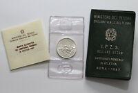 UNC KM# 258 SILVER Commem VATICAN 1000 LIRE 1994 The Good Samaritan coin
