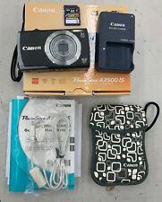 Canon PowerShot A3500 IS 16.0MP Digital Camera - Black