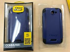 OtterBox HTC ONE X Commuter Case Blue Black Cover Hard Gel Shell OEM New