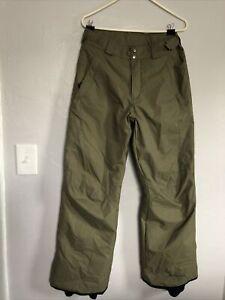 Columbia Omni Shield Men's Snow Pants Insulated Outdoors Rain Snowmobile SZ S