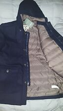 Men's LL Bean Allagash Coat Parka size Large Reg, Navy MSRP $249-