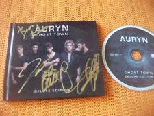 AURYN, CD DELUXE, FIRMADO, BLAS CANTO, GHOST TOWN  ( eurovision eurocontest )