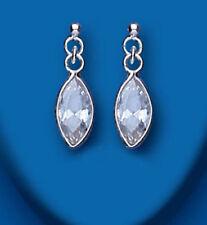 Marquise Cubic Zirconia Drop/Dangle Costume Earrings