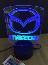 Mazda Led Light Sign Multi Color Display Man Cave Game Room (big 8x6�) U.S.A