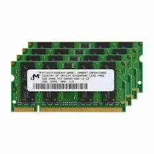 For Micron 8GB(4X2GB) DDR2 800Mhz PC2-6400 200Pin Laptop SODIMM SDRAM RAM RL1US