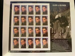 us stamps SC# 3329 James Cagney sheet of 20 MNH 33c 1999