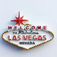 3D Resin Las Vegas Refrigerator Fridge Magnet Travel Souvenir Home Kitchen Decor
