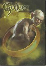 Hobbit An Unexpected Journey Gollum Character Insert Card #CB-18