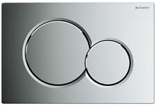 Geberit 115.770.21.5 Sigma01 Dual Flush Plate in Gloss Chrome for UP320 Cisterns