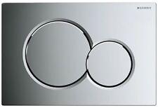 Geberit 115.770.21.5 Sigma01 Dual Flush Push Button Plate Gloss Chrome
