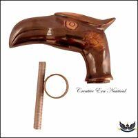 Solid Old Brass Eagle Head handle Gentleman's for Vintage Walking Cane Stick New
