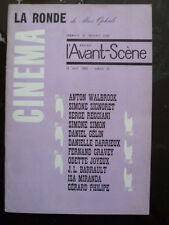 Magazine L'AVANT SCENE CINEMA  n° 25 - la RONDE de Max OPHULS - 1963