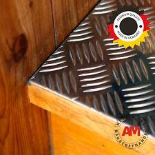 Alu Riffelblech 2,5/4,0mm Quintett 500x2000mm Aluminium Blech Warzenblech