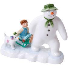 John Beswick The Snowman Snowdog & Billy Earthenware Figurine NEW