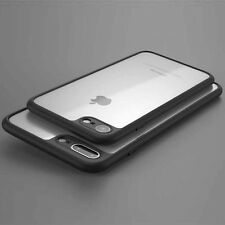 Ultra Thin Crystal Clear Rubber Bumper TPU Shockproof Case Cover iPhone 6 7 8 X