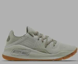 Under Armour UA Curry 4 Low 'Baja' Brown 3000083-103 Men's Size 9.5 Shoes