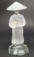 St. Saint Louis French Crystal Art THE CHINESE FLUTE France MSRP $560