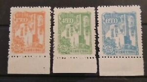 China Northeast 1949 Japanese Surrender nice set Mint with selvedge