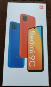 NEW XIAOMI REDMI 9C 32GB SUNRISE ORANGE UNLOCKED DUAL SIM with clear case