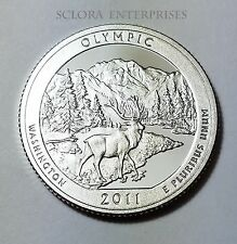 2011 S OLYMPIC  *90% SILVER PROOF*  ATB QUARTER   **FREE SHIPPING**