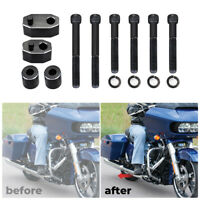 Driver Floorboard Extension Spacer Kit For Touring Street Glide FLHT FLHR FLTR