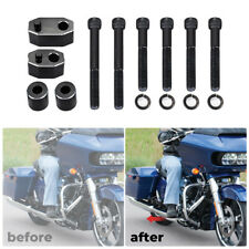 Driver Floorboard Extension Spacer Kit For Harley Touring Glide FLHT FLHR FLTR