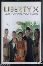 LIBERTY X - GOT TO HAVE YOUR LOVE 1992 UK CASSINGLE