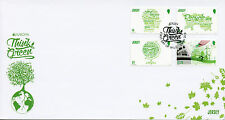 Jersey 2016 FDC Europa Think Green 4v Set Cover Recycling Conservation Stamps
