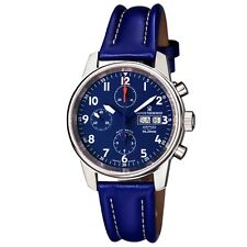 Revue Thommen Men's Airspeed XLarge Blue Dial Automatic Date Watch 16051.6535