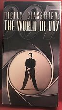 Highly Classified The World of 007 VHS - Sealed - NEW