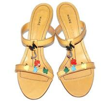 MARC JACOBS~NWOB~$330.00~LEATHER *COLORFUL CHARMS* SANDAL SHOES HEELS~9 (RARE)