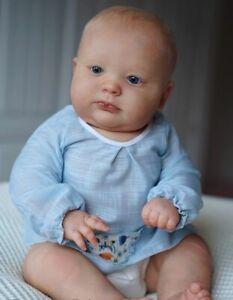 "Realborn® 3 Month Joseph Awake 23""~Unpainted reborn doll kit~~Full Limbs~NO COA~"