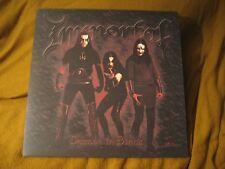 IMMORTAL damned in black GATEFOLD VINYL LP  marduk watain