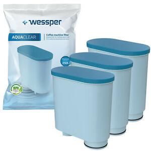 3x Wasserfilter von Wessper passend für Philips Saeco AquaClean CA6903/10