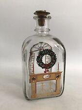 Holmegaard Glas Weihnachtsflasche Jule Flaske Design Denmark Flasche Christmas