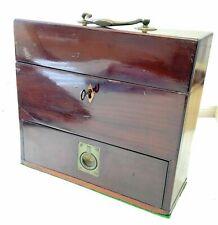 A George III Mahogany Apothecary Box