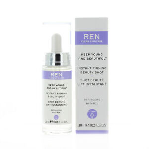 REN Clean Skincare Keep Young and Beautiful Instant Firming Beauty Shot 30ml 1.