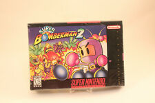 OEM New Sealed Super Bomberman 2 Super Nintendo Entertainment System SNES Game