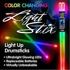 Light Stix Led Light Up Drumsticks - Color Change, Changes Color Every Beat!