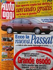 Auto Oggi n°29 1995 Punto Sporting - Perchè solo OPEL sponsorizza Calcio ?[Q201]