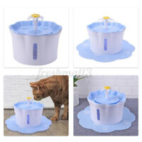 2.6L Pet Water Fountain Electric Water Dispenser For Cat Dog Auto Three
