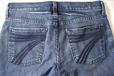 Womens 7 For All Mankind DOJO Jeans (25w x 27l) The Lexie Petite